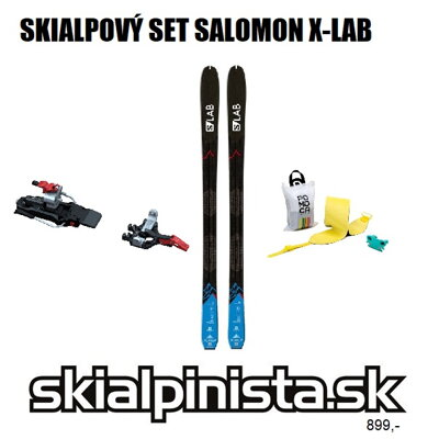 SKIALPOVÝ SET SALOMON X-LAB