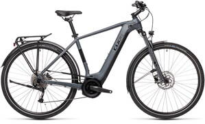 E-bicykel CUBE Touring Hybrid ONE 500 grey/black 2021