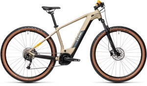 E-bicykel CUBE Reaction Hybrid Performance 500 desert/orange 2021