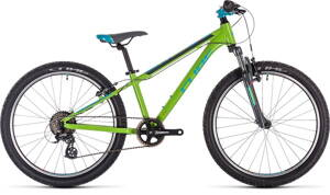 Bicykel CUBE ACID 240 green/blue/grey 2020