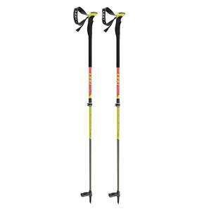 Palice Leki Aergonlite 2 Carbon 105-150 red/neonyellow-white (100)