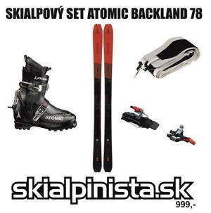 SKIALPOVÝ SET ATOMIC BACKLAND 78